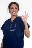 βέβαια νοσοκόμα Στοκ Εικόνα