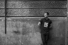 Βέβαια τοποθέτηση ατόμων selvedge στα τζιν Στοκ φωτογραφία με δικαίωμα ελεύθερης χρήσης