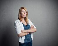 Βέβαια γυναίκα Στοκ εικόνα με δικαίωμα ελεύθερης χρήσης
