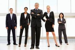 Βέβαιοι επιχειρηματίες στοκ φωτογραφίες με δικαίωμα ελεύθερης χρήσης