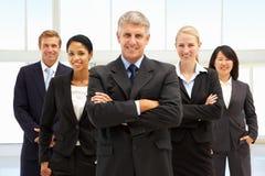 Βέβαιοι επιχειρηματίες στοκ εικόνες με δικαίωμα ελεύθερης χρήσης