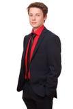 βέβαιος έφηβος Στοκ φωτογραφία με δικαίωμα ελεύθερης χρήσης