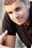 Βέβαιος αραβικός αιγυπτιακός νέος επιχειρηματίας Στοκ φωτογραφίες με δικαίωμα ελεύθερης χρήσης