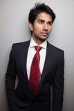 Βέβαιος ασιατικός επιχειρηματίας Στοκ Φωτογραφίες
