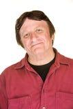 Βέβαιο άτομο στο κόκκινο Στοκ φωτογραφία με δικαίωμα ελεύθερης χρήσης