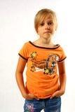 βέβαιο κορίτσι Στοκ εικόνες με δικαίωμα ελεύθερης χρήσης