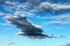 Βέλος από τα σύννεφα Στοκ Φωτογραφίες