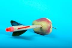 βέλος μήλων Στοκ εικόνα με δικαίωμα ελεύθερης χρήσης