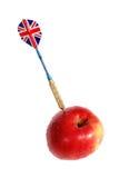βέλος μήλων Στοκ Φωτογραφία