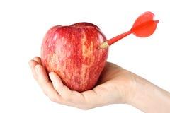 βέλος μήλων Στοκ φωτογραφία με δικαίωμα ελεύθερης χρήσης