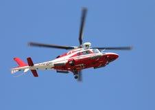 Βένετο, Ιταλία - 26 Μαΐου 2016: Ελικόπτερο των ιταλικών πυροσβεστών Στοκ Εικόνες