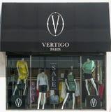 Βέρτιγκο Παρίσι Storefront Στοκ Φωτογραφίες