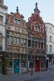Βέλγων Όμορφη πόλη Gent Στοκ Εικόνα