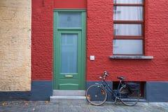 Βέλγων Όμορφη πόλη Gent Στοκ Εικόνες