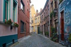 Βέλγων Όμορφη πόλη Gent Στοκ φωτογραφίες με δικαίωμα ελεύθερης χρήσης