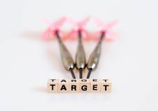 Βέλη στόχων Στοκ εικόνα με δικαίωμα ελεύθερης χρήσης