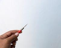 Βέλος εκμετάλλευσης χεριών στοκ φωτογραφίες με δικαίωμα ελεύθερης χρήσης