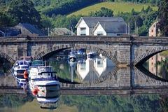 Βέλος ποταμών, Totnes στοκ εικόνες
