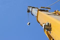 Βέλος του τηλεσκοπικού γερανού Στοκ φωτογραφία με δικαίωμα ελεύθερης χρήσης
