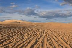 βήματα άμμου της Ρωσίας kurshskaya kosa οριζόντων αμμόλοφων που τεντώνουν ΝΕ Βιετνάμ mui Στοκ εικόνα με δικαίωμα ελεύθερης χρήσης