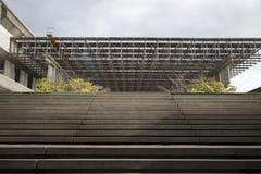Βήματα ακαδημαϊκό quadrangle Στοκ φωτογραφία με δικαίωμα ελεύθερης χρήσης