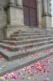 βήματα εκκλησιών Στοκ φωτογραφία με δικαίωμα ελεύθερης χρήσης
