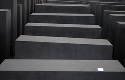 Βήματα ενός ολοκαυτώματος Mahnmal Στοκ φωτογραφία με δικαίωμα ελεύθερης χρήσης