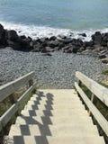 Βήματα θάλασσας Στοκ φωτογραφία με δικαίωμα ελεύθερης χρήσης