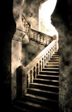 βήματα κάστρων Στοκ Εικόνα