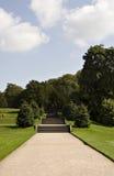 βήματα κήπων στοκ εικόνες