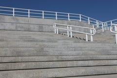 βήματα κιγκλιδωμάτων Στοκ Εικόνες