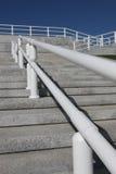 βήματα κιγκλιδωμάτων Στοκ Φωτογραφία