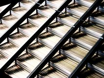 Βήματα μετάλλων Στοκ φωτογραφία με δικαίωμα ελεύθερης χρήσης