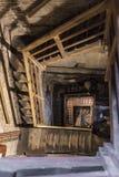 Βήματα Μπολόνια πύργων Asinelli Στοκ Εικόνα