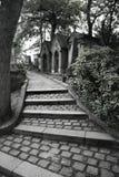 βήματα νεκροταφείων Στοκ Φωτογραφία