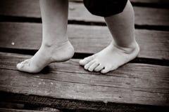 Βήματα παιδιού Στοκ Εικόνες