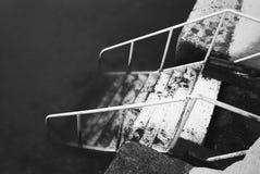 Βήματα πουθενά Στοκ φωτογραφίες με δικαίωμα ελεύθερης χρήσης