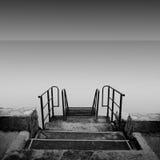 Βήματα πουθενά Στοκ φωτογραφία με δικαίωμα ελεύθερης χρήσης