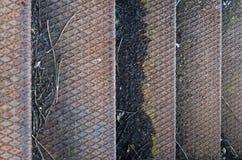 Βήματα σιδήρου μιας σκάλας Στοκ φωτογραφίες με δικαίωμα ελεύθερης χρήσης