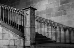 Βήματα & σκιές Στοκ Εικόνα