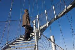 βήματα σταδιοδρομίας Στοκ Φωτογραφίες