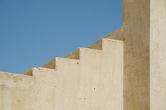 Βήματα στο οχυρό Nakhal Στοκ Εικόνες