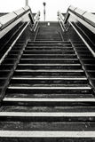 Βήματα στο σταθμό τρένου Στοκ Φωτογραφίες