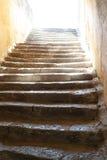 Βήματα στο φως Στοκ Φωτογραφία