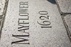 Βήματα Mayflower Στοκ εικόνες με δικαίωμα ελεύθερης χρήσης