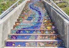 Βήματα Moraga, Σαν Φρανσίσκο στοκ φωτογραφίες με δικαίωμα ελεύθερης χρήσης