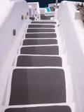 βήματα santorini της Ελλάδας στοκ φωτογραφία με δικαίωμα ελεύθερης χρήσης