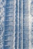 Βήμα ελαστικών αυτοκινήτου Στοκ φωτογραφία με δικαίωμα ελεύθερης χρήσης