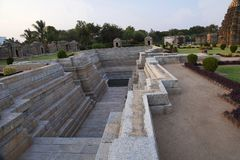 Βήμα καλά, ναός Mahadeva, Itgi, κράτος Karnataka, Ινδία Στοκ εικόνες με δικαίωμα ελεύθερης χρήσης