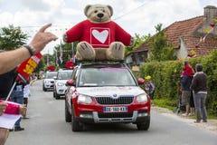 Βήμα πυγμών του γύρου 2016 της Γαλλίας κύκλων Στοκ Φωτογραφία